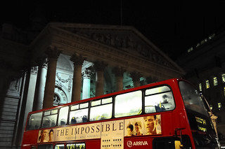 Can a bus block your view?