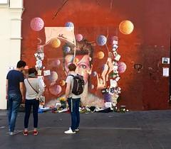 Bowie, Brixton, London, April 2017 (sbally1) Tags: london brixton mural bowie davidbowie bowiemural southlondon davidbowiemural