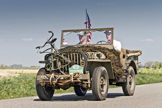 Ford GPW Jeep US 82nd Airborne Division 1943 with