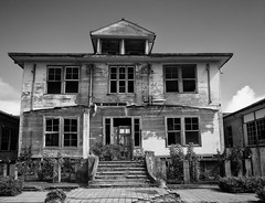 House (Flo Guichard) Tags: abandoned decay old urbex urban exploration costa rica travel monochrome blackandwhite black white architecture