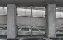 NO WAY (henny vogelaar) Tags: netherlands rotterdam parking concrete