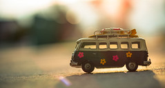 old hippie (auntneecey) Tags: oldhippie vwbus van toys 365the2017edition 3652017 day101365 11apr17