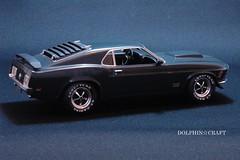 '70 Mustang BOSS 429 3 (DOLPHIN☆CRAFT) Tags: 1970 ford mustang boss 429 monogram フォード ムスタング マスタング モノグラム プラモデル