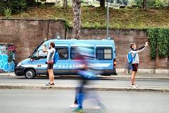 Il duello (AlessandroDM) Tags: roma maratonadiroma2017 sergioleone morricone