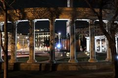 Soviet War Memorial (No_Mosquito) Tags: vienna austria city centre night lights dark urban memorial history canon powershot g7x mark ii columns deserted soviet army schwarzenbergplatz redarmy monument