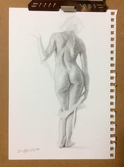 Figurative Study (micromax) Tags: art arte artwork artista artist figurative figurativeart artstagram pintor painter artsy nude nudeart anatomy anatomia figurahumana sketchbook sketches faces portraits journal draw drawing pencil