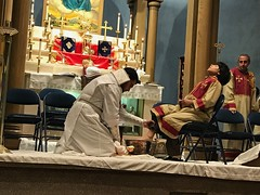 "Washing of the feet service 2017 • <a style=""font-size:0.8em;"" href=""http://www.flickr.com/photos/124917635@N08/34037230945/"" target=""_blank"">View on Flickr</a>"