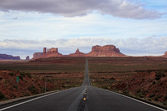 Utah - Approach To Monument Valley (JimP (in Sarnia)) Tags: utah navajo tribal park monument valley