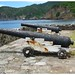 cannons Montserrat West Indies bay