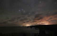 Orion shining above the Twelve Apostles at sunset (padraic_koen) Tags: 12apostles greatoceanroad victoria australia