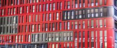 50 Shades (creati.vince) Tags: architecture cityscape creativince frankfurt germany mainhattan red shades windows