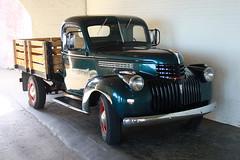 1940 Chevrolet Pick-up - Alcatraz Island 2016 (anorakin) Tags: alcatraz 1940 chevrolet pickup alcatrazisland 2016