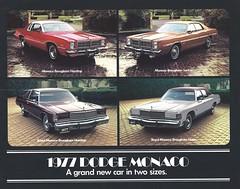 1977 Dodge Monaco (Hugo-90) Tags: 1977 dodge royal monaco brougham ads advertising brochure catalog