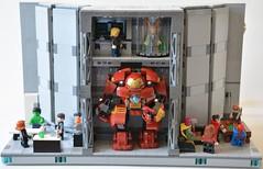 Labo stark 13 (John_Toulouse) Tags: moc mod lego johntoulouse super heroes sh ironman iron man avengers stark labo armor