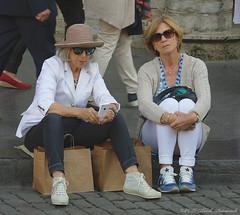 Portrait (Natali Antonovich) Tags: portrait sweetbrussels brussels belgium belgie belgique grandplace relaxation lifestyle hat