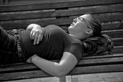 Strangers - Sleeping girl (R.D. Gallardo) Tags: canon eos 6d raw retrato robado bw blanco black bn bilbao negro niña white woman street strangers stphotographia girl sleeping sleep durmiendo durmiente sexy