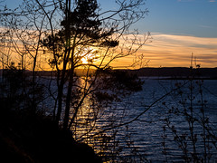 Almost sunset. From a cliff... (rafareceputi) Tags: moss jeloy jeløy norway norge