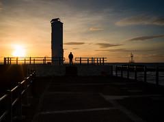 Heisenberg (stephen cosh) Tags: ayr ayrharbour ayrshire hasselbladx1d hasselbladxcd45mm landscape lighthouse longexposure mediumformat ocean scotland seascape stephencosh