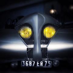 """What a strange old car ;-)              Arzens - Cabriolet """"La Baleine"""" 1938 - Cite de l'automobile - Mulhouse (laurentw68) Tags: instagramapp square squareformat iphoneography uploaded:by=instagram lofi"""