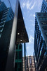 Shiny city (Spannarama) Tags: uk london heron glass buildings reflections blueskies offices moorlane ropemaker