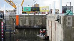 Float-out has commenced (WSDOT) Tags: sr520 pontoons aberdeen sr520floatingbridge sr520bridgereplacementandhovproject wsdot washingtonstatedepartmentoftransportation sh pontoonconstructionproject stateroute520 sr520program kiewit kiewitgeneral kg cycle5 tugboat pontoonfloatout september262014