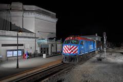 A quiet tribute to Joliet Union Station. (Embee 2110) Tags: trainstation jud jolietunionstation jolietillinois metrajoliet ri531 nirc207