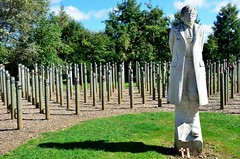 2014 09 07 098 National Memorial Arboretum (Mark Baker, photoboxgallery.com/markbaker) Tags: uk autumn england english fall andy statue private dawn photo memorial europe baker shot britain mark united great kingdom september national photograph gb british herbert staffordshire burden aboretum lichfield 2014 alrewas staffs decomyn picsmark