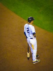 Derek Jeter - Last Home Game (Casper Rilla) Tags: new york stadium bronx derek captain yankee yankees jeter nyy re2pect
