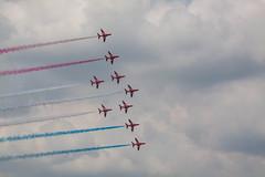 The Red Arrows #6 (JDurston2009) Tags: airshow redarrows riat airdisplay royalinternationalairtattoo royalairforce raffairford airtattoo royalairforceaerobaticdisplayteam baehawkt1 baehawkt1a royalinternationalairtattoo2014 riat2014