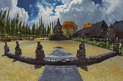 Bedugul Temple ~ Infrared (Farizun Amrod Saad) Tags: bali indonesia temple infrared pura bedugul baliinfrared
