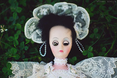 (Tammy Schild) Tags: broken bride doll lace clover