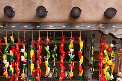 Ceramic Chiles (Erik Pronske) Tags: business ceramic chile gallery santafe newmexico unitedstates decoration art color
