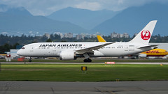 JA824J - Japan Airlines - JAL - Boeing 787-8 Dreamliner (bcavpics) Tags: canada vancouver plane airplane britishcolumbia aircraft aviation yvr jal airliner japanairlines 787 788 dreamliner bcpics boeing7878 ja824j
