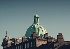 Rooftops, Rathmines, Dublin, Ireland. (2c..) Tags: ireland sky dublin church buildings © dome 2c