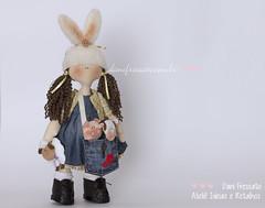 (Dani_Fressato) Tags: doll craft boneca patchwork tecido trabalhomanual ideias retalhos
