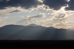Light Rays Over Hunewill Ranch (Jeffrey Sullivan) Tags: california travel copyright usa jeff photo unitedstates september sullivan bridgeport 2014 easternsierra monocounty visitca visitcalifornia hunewillranch visitmonocounty visiteasternsierra