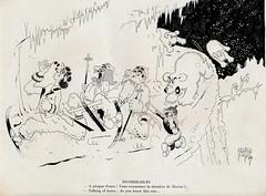 Albert Dubout Album 1944  cartoon incorrigibles