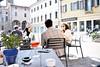 Piazza San Vito (cristina.depascale) Tags: show mostra city italy sculpture art square stand arte place exhibition treviso scuola scultura sculptress piazzadeisignori estemporanea scultrice