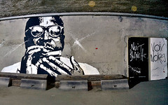 13A - Halle Freyssinet (o_Ouissem) Tags: street streetart paris art nuitblanche paris13 pochoir pochoirs jefaerosol hallefreyssinet voixnoires