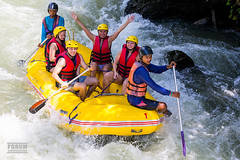 XOKA4369bs (forum.linvoyage.com) Tags: white water sport river fun thailand boat droplets outdoor helmet paddle wave rafting raft phuket