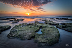 Locket (Mike Hankey.) Tags: seascape sunrise focus published bungan