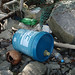 Trash on Pulau Ubin: Industrial container