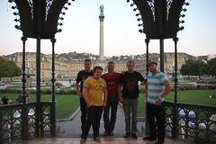 The Team in Stuttgart!
