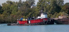 Tug - Tenacious (Hear and Their) Tags: river detroit tug barge amherstburg