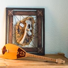 Kazakh Dombyra (Sue_Hutton) Tags: autumn home musicalinstrument kazakhstan mementoes alphabetchallenge dombra mformusic september2014 dombura