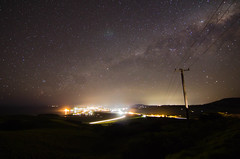 Clear night over Gerringong NSW (PhilliB123) Tags: night canon way stars coast long exposure time south tokina nsw milky f28 gerringong 600d 1116mm