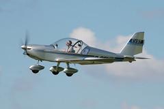 G-CDXS (Paul Thallon - Aviation Photos) Tags: ev97 sywell teameurostar cosmikaviation egbk gcdxs laarally2014
