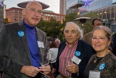 Peter Neivert, Herb Emers and Jill Brody (Photo by Jen Bonin)