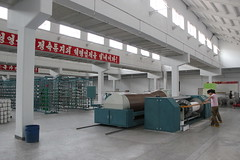 Pyongyang Textile Factory (Ray Cunningham) Tags: workers factory north korea textile production pyongyang dprk coreadelnorte