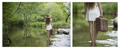 #3 (Charlie Lamare) Tags: girls white water hat river photography dress case mobility mobilit